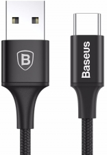 Кабель Baseus Rapid Series Cable for Type-C Black (CATSU-B01)
