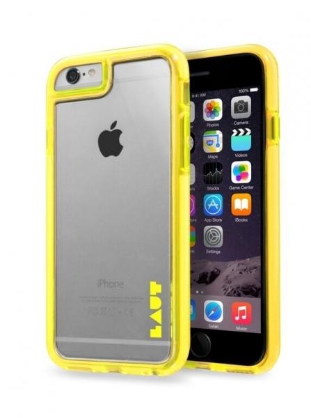 Чехол LAUT FLURO для iPhone 6 - Yellow (LAUT_IP6_FR_Y)
