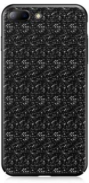 Чехол Baseus Plaid Case для iPhone 7 Plus Black (WIAPIPH7P-GP01)