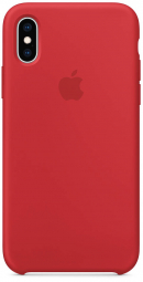 Apple iPhone XS Silicone Case - PRODUCT RED (MRWC2)