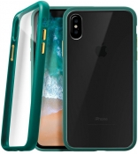 Чехол LAUT ACCENTS для iPhone X - Green (LAUT_IP8_AC_GN)