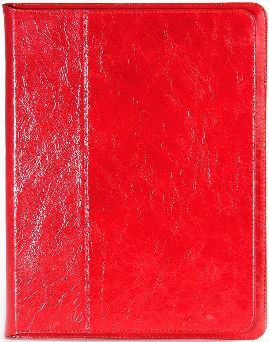 Чехол EGGO Masstige Rose для iPad 2/3/4 (кожа, красный)