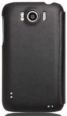 Чехол Nillkin для HTC Sensation XL (X315e)New leather series-type leat (черный) - ITMag