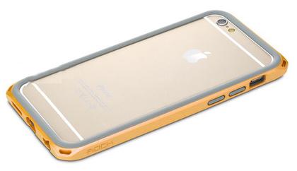 "Бампер Rock Duo Star Series для Apple iPhone 6/6S (4.7"") (Оранжевый / Orange)"