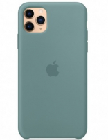 Apple iPhone 11 Pro Max Silicone Case - Cactus (MY1G2) Copy