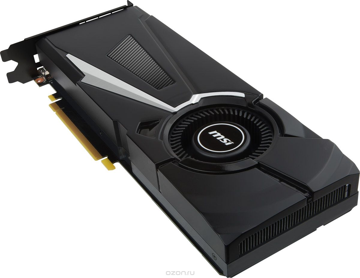 Купить MSI GeForce GTX 1080 AERO 8G OC