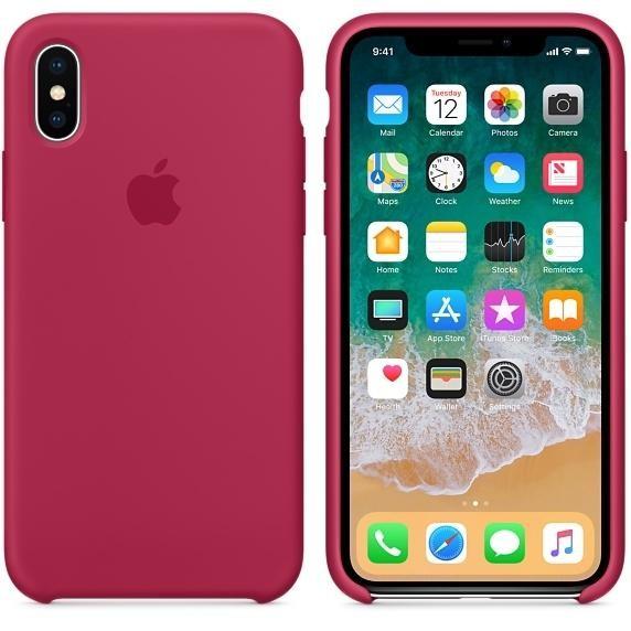 Apple iPhone X Silicone Case - PRODUCT RED (MQT52)