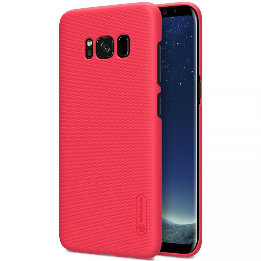 Чехол Nillkin Matte для Samsung G950 Galaxy S8 (+ пленка) (Красный)