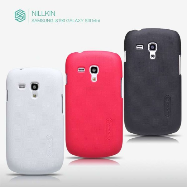 Чехол Nillkin Matte для Samsung i8190 Galaxy S3 mini (+ пленка) (Белый)