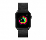 Кожаный ремешок для Apple Watch 42/44 mm LAUT TECHNICAL Black (LAUT_AWL_TE_BK)