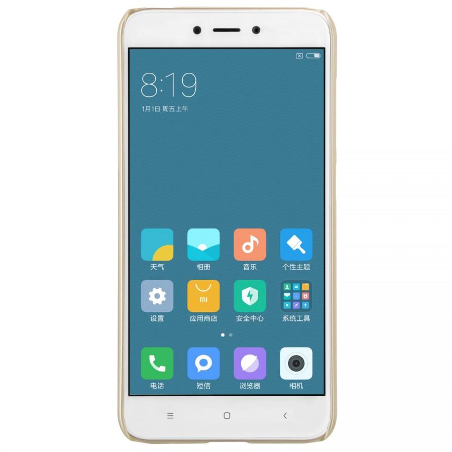 Чехол Nillkin Matte для Xiaomi Redmi 4X (+ пленка) (Золотой)