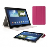 Чехол Crazy Horse Tri-fold with Wake Up for Samsung Galaxy Note 10.1 (2014) P600/P601/P605 Rose