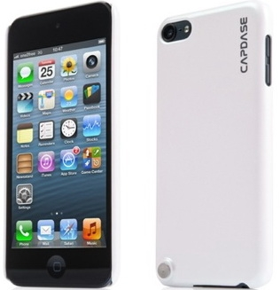 Чехол-накладка Capdase Karapace Jacket Pearl White for iPod touch 5 (KPIPT5-P102) - ITMag