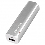 Awei Power Bank P90k 2600 mAh Silver
