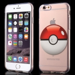 TPU чехол EGGO Pokemon Go для iPhone 6 Plus/6S Plus (Poke Ball (прозрачный))