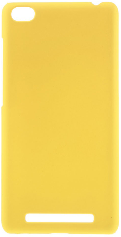 Чехол EGGO Rubberized Plastic для Xiaomi Redmi 3 (Желтый/Yellow)