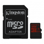 карта памяти Kingston 32 GB microSDHC class 10 UHS-I U3 + SD Adapter SDCA3/32GB