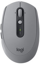Logitech Wireless Mouse M590 Multi-Device Silent - MID GREY TONAL (910-005198)