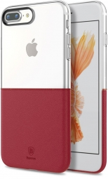 Чехол Baseus Half to Half Case For iphone7 Plus Wine red (WIAPIPH7P-RY09)