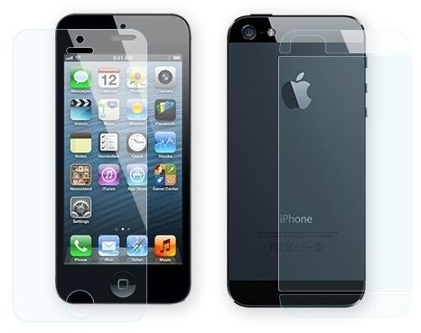 Пленка защитная EGGO iPhone 5/5S/SE 2 в 1 (Матовая)