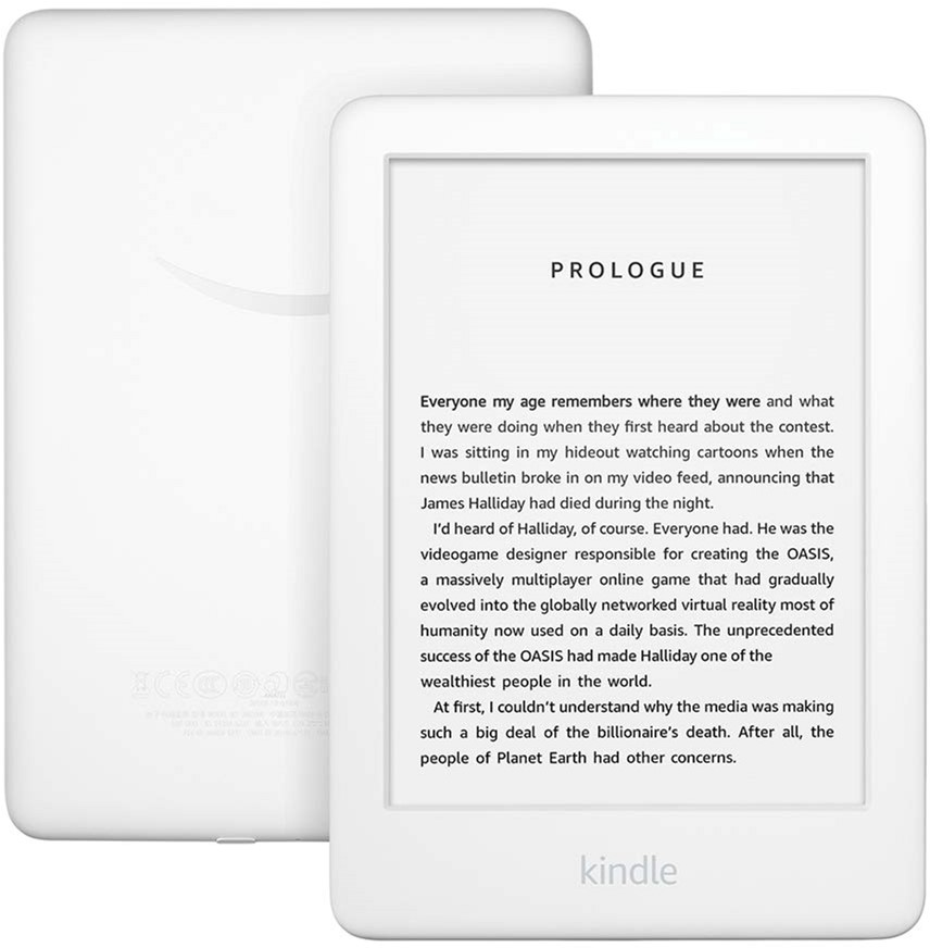 Amazon Kindle 10th Gen. 2019 White