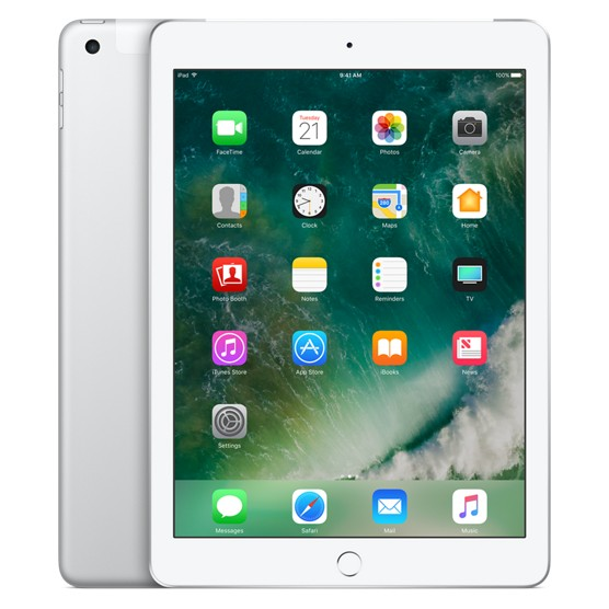 Apple iPad Wi-Fi + Cellular 32GB Silver (MP252)