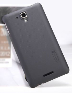 Чехол Nillkin Matte для Lenovo S8/S898T (Golden Warrior) (+ пленка) (Черный) - ITMag