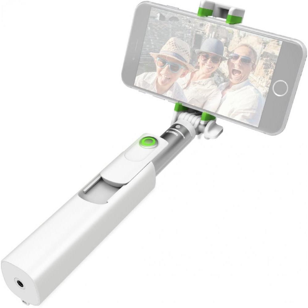iOttie MiGo Mini Selfie Stick, Pole White (HLMPIO120WH)