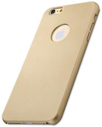 "Пластиковая накладка Rock Glory Series для Apple iPhone 6 Plus/6S Plus (5.5"") (Золотой / Gold)"
