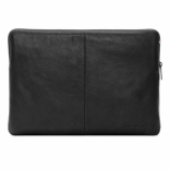 "DECODED Leather Slim Sleeve with Zipper for MacBook 12"" Black (D4SS12BK)"