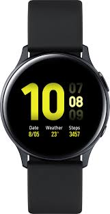 Купить Умные часы (Smartwatch), Samsung Galaxy Watch Active 2 44mm Black Aluminium (SM-R820NZKASEK) UA