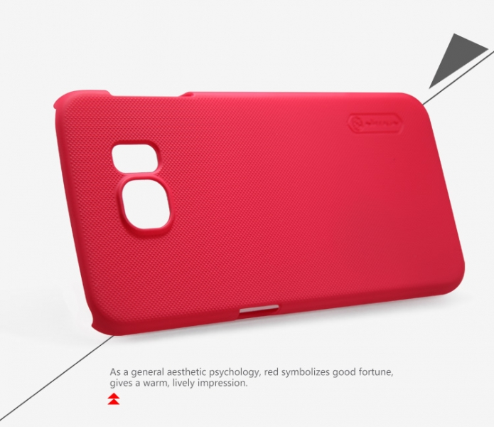 Чехол Nillkin Matte для Samsung G920F Galaxy S6 (+ пленка) (Красный)