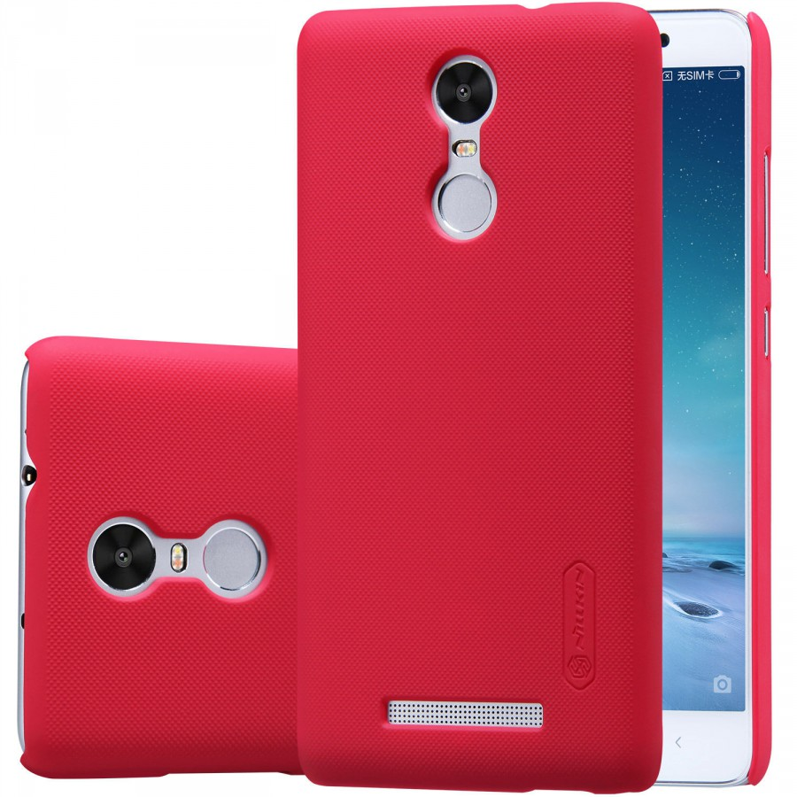 Чехол Nillkin Matte для Xiaomi Redmi Note 3 / Redmi Note 3 Pro (+ пленка) (Красный)