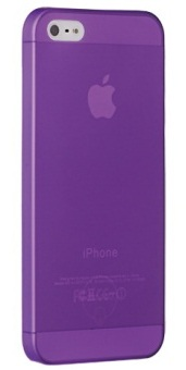 Ozaki O!coat 0.3 Solid Purple for iPhone 5/5S (OC533PU) - ITMag