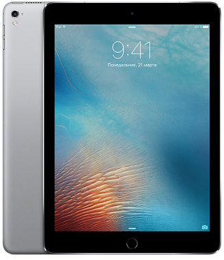 Apple iPad Pro 9.7 Wi-FI 32GB Space Gray (MLMN2) UA UCRF - ITMag