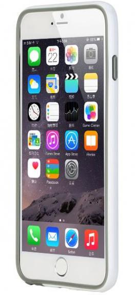 "Бампер ROCK Duplex Slim Guard для Apple iPhone 6 Plus/6S Plus (5.5"") (Белый / White)"