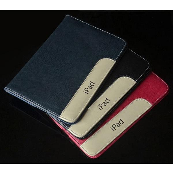 Чехол EGGO Ultraslim для iPad Air 2 (кожа, белый)