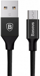 Кабель Baseus Yiven Cable for Micro Usb 1m (CAMYW-A01) Black