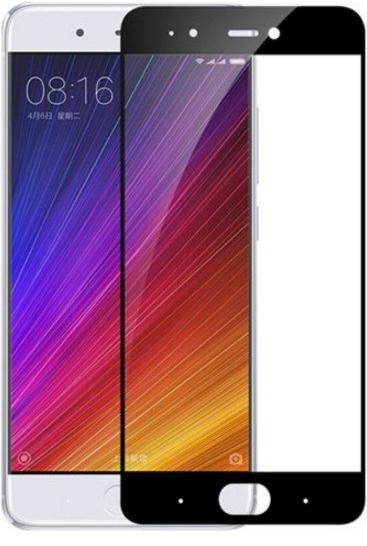Защитное стекло EGGO на весь экран для Xiaomi Mi5s (Черное)
