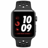 Apple Watch Series 3 Nike 38mm Anthracite Black Nike Sport Gray Aluminium (MTF12)