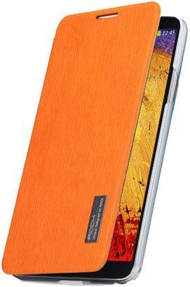 Чехол (книжка) ROCK Elegant Series для Samsung N9000/N9002 Galaxy Note 3 (Оранжевый / Orange)