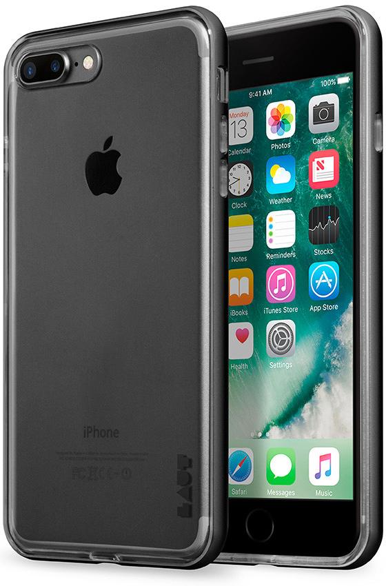 Бампер LAUT EXO-FRAME Aluminium bampers для iPhone 7 Plus - Gray (LAUT_IP7P_EX_GM)