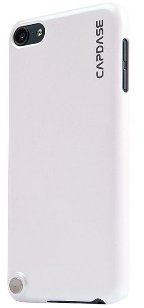 Чехол-накладка Capdase Karapace Jacket Pearl White for iPod touch 5 (KPIPT