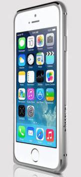 "Металлический бампер Nillkin Gothic Series для Apple iPhone 6/6S (4.7"") (Серебряный)"