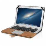 "DECODED Slim Cover for MacBook Pro Retina 15"" Brown (DA2MPR15SC1BN)"