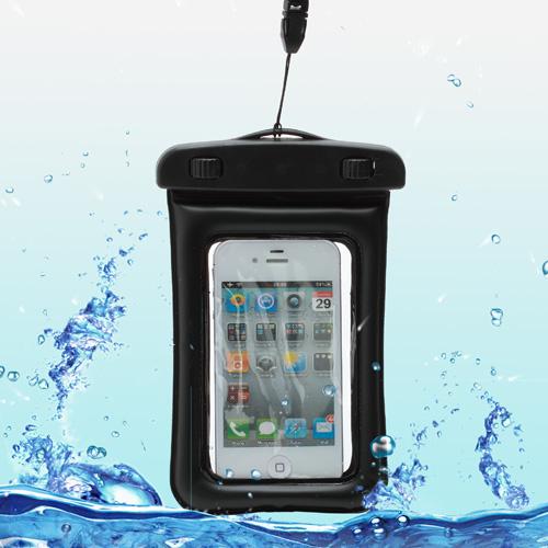 Чехол EGGO водонепроницаемый для Samsung Galaxy/ iPhone 4/4s/5/5s WP-320 (черный)