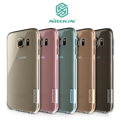 TPU чехол Nillkin Nature Series для Samsung G920F Galaxy S6 (Золотой (прозрачный))