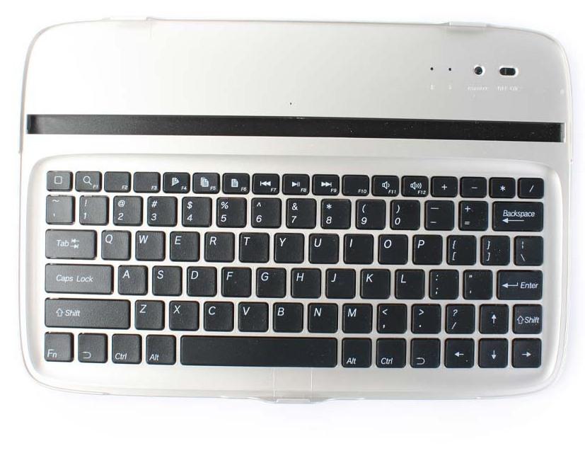 Беспроводная клавиатура EGGO Aluminum Case для Samsung Google Nexus 10