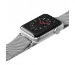 Ремешок для Apple Watch 42/44 mm LAUT STEEL LOOP Silver (LAUT_AWL_ST_SL)