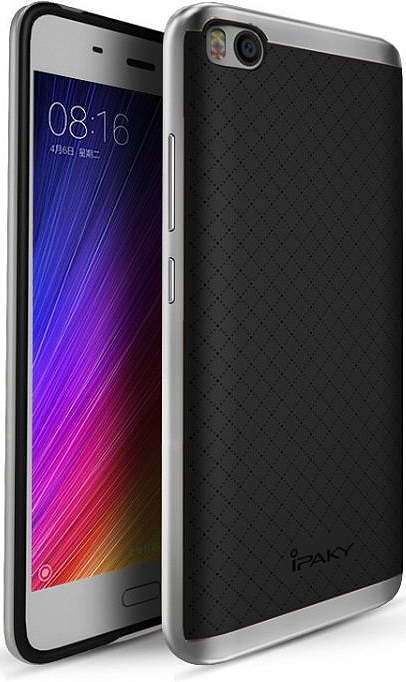 Чехол iPaky TPU+PC для Xiaomi Mi5s (Черный / Серебряный)